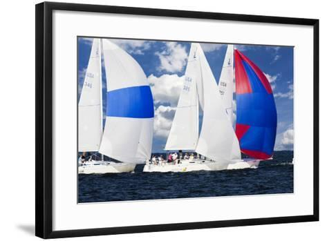 Race at Annapolis 2-Alan Hausenflock-Framed Art Print
