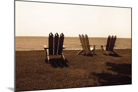 Adirondack Chairs II-Alan Hausenflock-Mounted Photographic Print