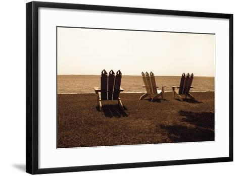 Adirondack Chairs II-Alan Hausenflock-Framed Art Print