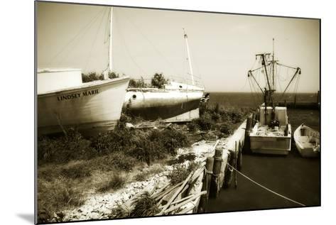 Boat Yard II-Alan Hausenflock-Mounted Photographic Print
