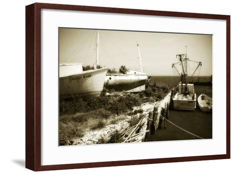 Boat Yard II-Alan Hausenflock-Framed Art Print
