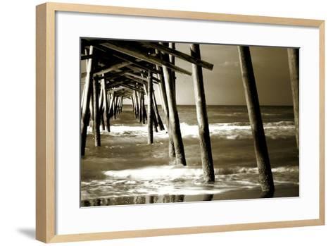 Under the Pier II-Alan Hausenflock-Framed Art Print