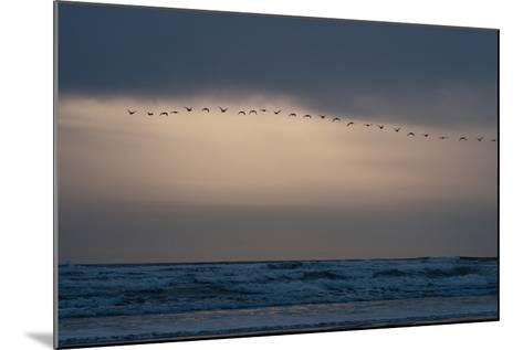 Oregon Coast Sunset 2-Erin Berzel-Mounted Photographic Print