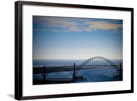 Yaquina Bay Bridge II-Erin Berzel-Framed Art Print