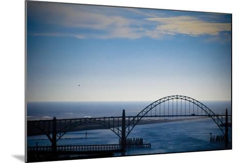 Yaquina Bay Bridge II-Erin Berzel-Mounted Photographic Print
