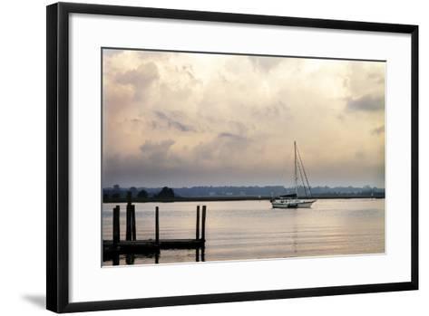 Morning on the Water I-Alan Hausenflock-Framed Art Print