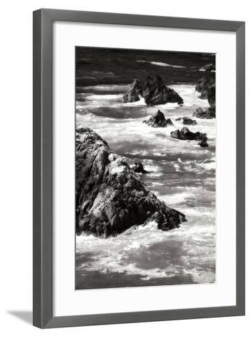 Garrapata Highlands 6 BW-Alan Hausenflock-Framed Art Print