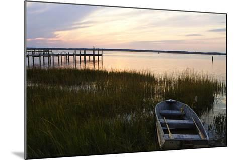 Sunset over the Channel 4-Alan Hausenflock-Mounted Photographic Print