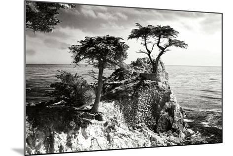 Ocean Cliff I-Alan Hausenflock-Mounted Photographic Print