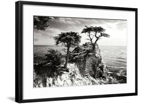 Ocean Cliff I-Alan Hausenflock-Framed Art Print