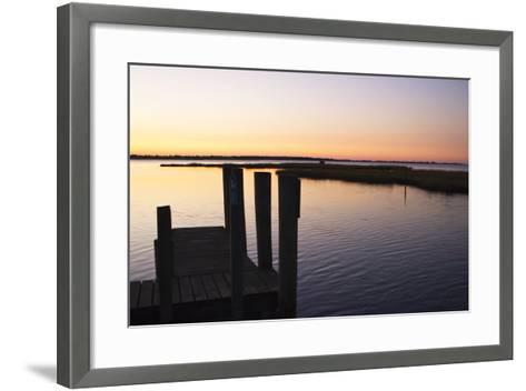Chincoteague Sunrise 2-Alan Hausenflock-Framed Art Print