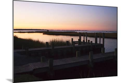 Chincoteague Sunrise 1-Alan Hausenflock-Mounted Photographic Print