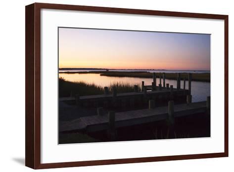 Chincoteague Sunrise 1-Alan Hausenflock-Framed Art Print