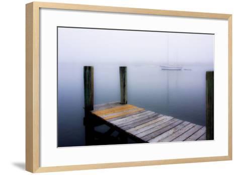 Stillness on the Water 1-Alan Hausenflock-Framed Art Print