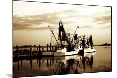 Beaufort Shrimpers-Alan Hausenflock-Mounted Photographic Print