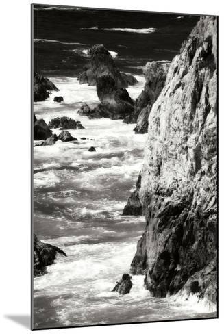 Garrapata Highlands 7 BW-Alan Hausenflock-Mounted Photographic Print