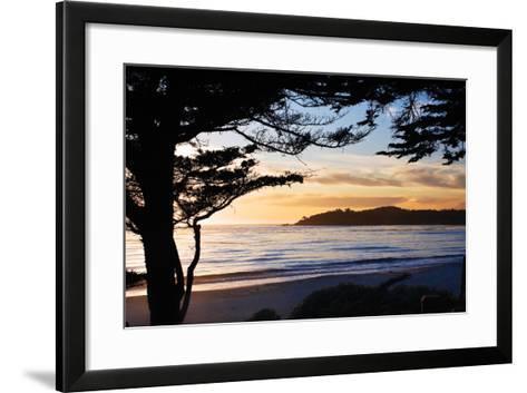 Carmel Sunset 3-Alan Hausenflock-Framed Art Print