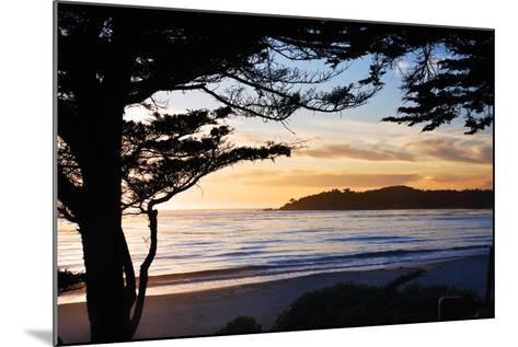 Carmel Sunset 3-Alan Hausenflock-Mounted Photographic Print