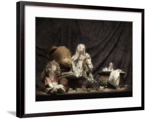 Story Time-C^ McNemar-Framed Art Print