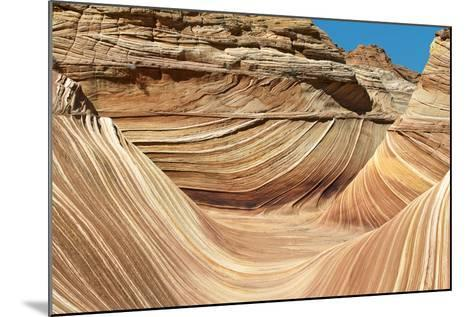Wave Walls-Larry Malvin-Mounted Photographic Print