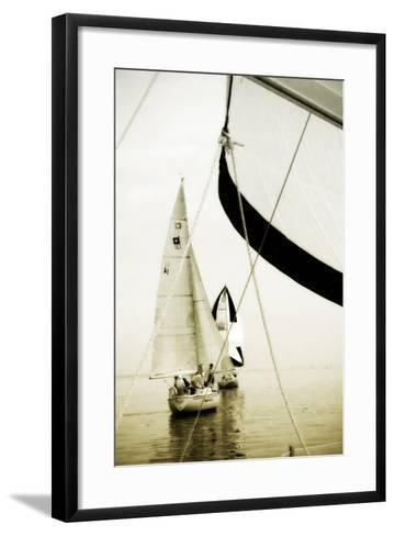 River Sailors II-Alan Hausenflock-Framed Art Print