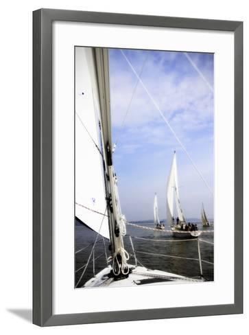 Quantico Fleet III-Alan Hausenflock-Framed Art Print