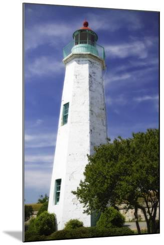 Old Point Comfort Light I-Alan Hausenflock-Mounted Photographic Print