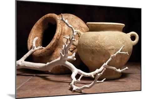 Pottery with Branch II-C^ McNemar-Mounted Photographic Print