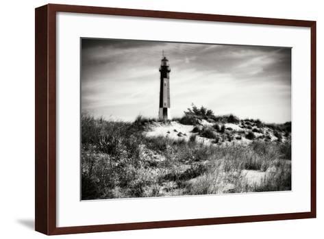 Cape Henry Light V-Alan Hausenflock-Framed Art Print