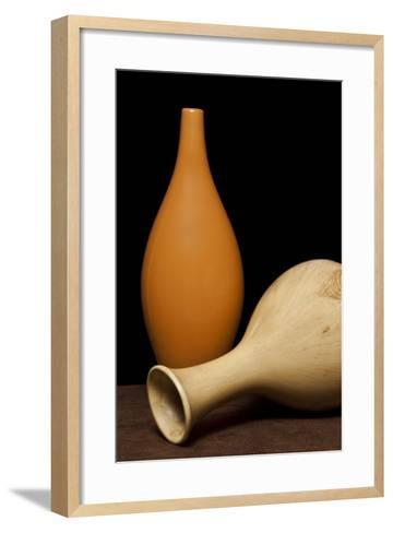 Bud Vases II-C^ McNemar-Framed Art Print