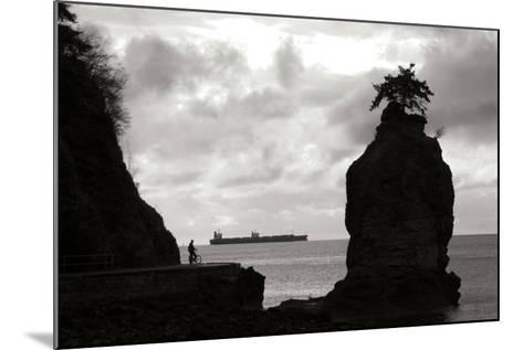 Biking on the Coast-Erin Berzel-Mounted Photographic Print