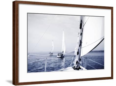 Quantico Fleet II-Alan Hausenflock-Framed Art Print