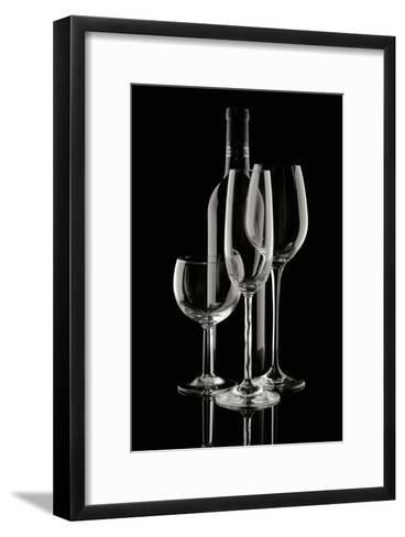 Wine Reflections II-C^ McNemar-Framed Art Print