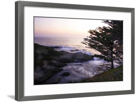 Carmel Highlands Sunset II-Alan Hausenflock-Framed Art Print