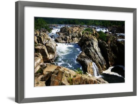 Great Falls II-Alan Hausenflock-Framed Art Print