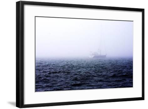 Fog on the Bay I-Alan Hausenflock-Framed Art Print