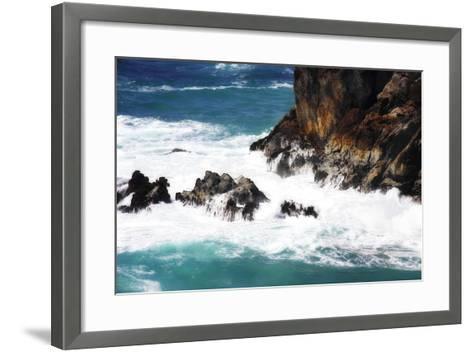 Churning Surf II-Alan Hausenflock-Framed Art Print