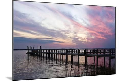 Dockside Sunset 3-Alan Hausenflock-Mounted Photographic Print