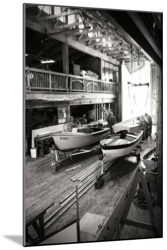 Boat Works I-Alan Hausenflock-Mounted Photographic Print
