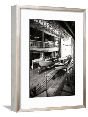 Boat Works I-Alan Hausenflock-Framed Art Print