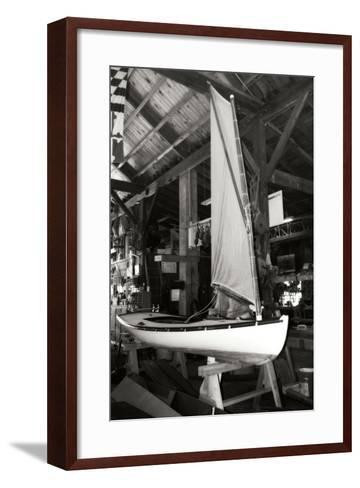 Boat Works II-Alan Hausenflock-Framed Art Print