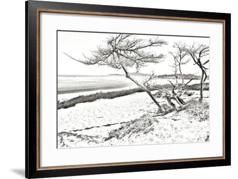 Carmel Beach IV-Alan Hausenflock-Framed Art Print