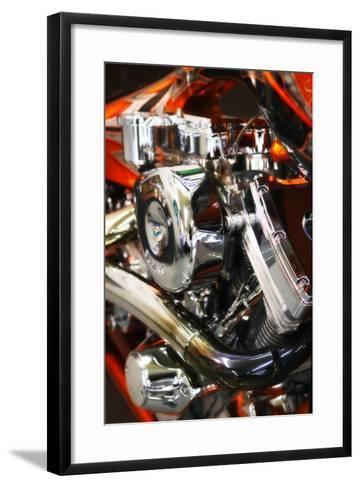Custom Chopper I-Alan Hausenflock-Framed Art Print
