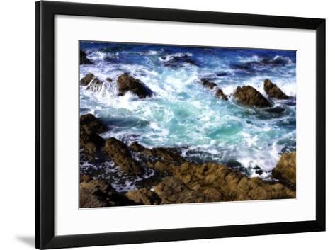 Churning Surf I-Alan Hausenflock-Framed Art Print