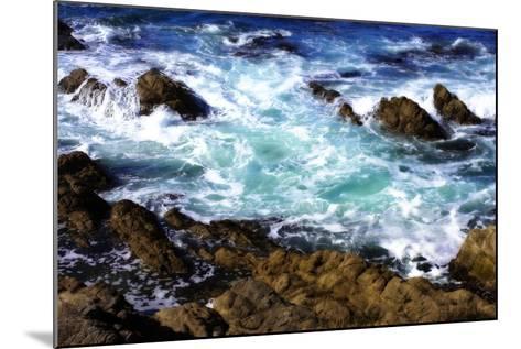 Churning Surf I-Alan Hausenflock-Mounted Photographic Print