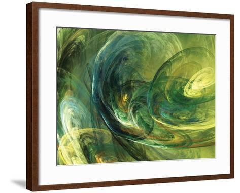 Fractal Light IV-Alan Hausenflock-Framed Art Print