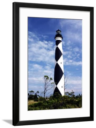 Cape Lookout Light-Alan Hausenflock-Framed Art Print