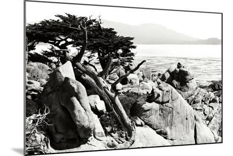 Ocean Cliff II-Alan Hausenflock-Mounted Photographic Print