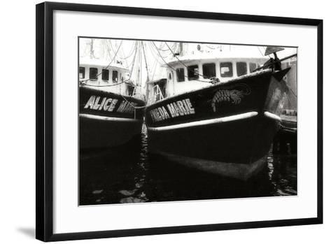 Beaufort Shrimpers-Alan Hausenflock-Framed Art Print