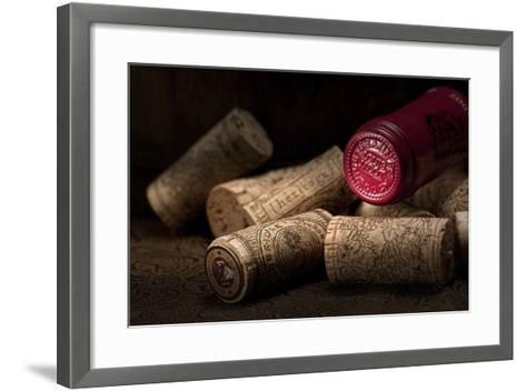 Wine Corks Still Life IV-C^ McNemar-Framed Art Print
